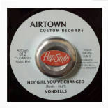 "45RE ✦ VONDELLS ""Hey Little Girl You've Changed / TOMMY WILLS ""Sweet Soul"" ✦"
